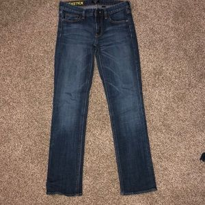 J.Crew women's Matchstick style jeans 26S